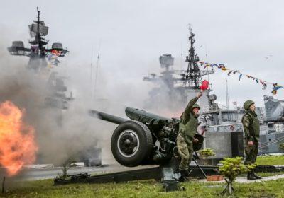 Пушечным выстрелом будут отмечать полдень в Приморье