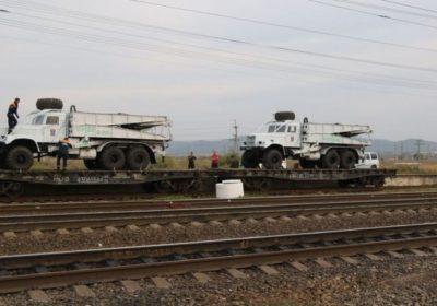 В Приморье привезли мост из Новосибирска